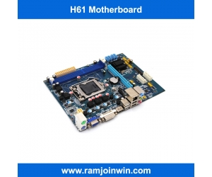 11.11 promotional Dual Channel  lga1155 h61 maiboard Supports DDR3 1333/1066/800 memory