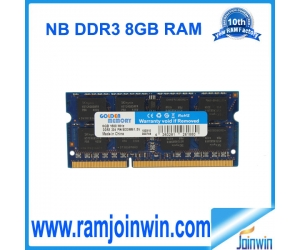 1600mhz 204-pin ddr3 8gb ram for laptop