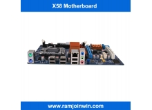2017 hot selling lga1366 x58 motherboard for desktop and server