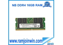 Notebook 260pins ddr4 16gb ram