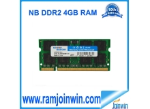 ram memory laptop 8gb ddr2 800mhz 2pieces*4GB  china factory wholesale
