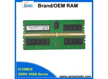 Factory in stock ram 16gb ddr4 2133  for server